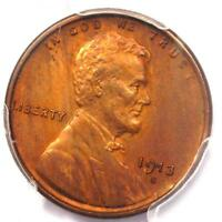 1913-S LINCOLN WHEAT CENT 1C - PCGS UNCIRCULATED DETAILS -  MS UNC COIN