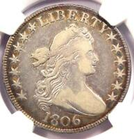 1806 O-113 DRAPED BUST HALF DOLLAR 50C R6 - NGC VF20 PQ - RARITY-6 - $1475 VALUE