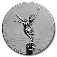 2017 MEXICO 2 OZ SILVER REVERSE PROOF LIBERTAD