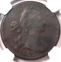 1802 DRAPED BUST LARGE CENT 1C S-242 - NGC VF DETAILS -  EARLY PENNY