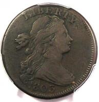 1803 DRAPED BUST LARGE CENT 1C - PCGS VF DETAILS -  EARLY DATE PENNY