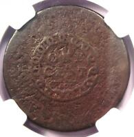 1793 FLOWING HAIR CHAIN CENT 1C