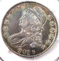 1819/8 SMALL 9 CAPPED BUST HALF DOLLAR 50C - PCGS EXTRA FINE  DETAILS -  COIN