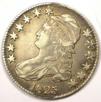 1825 CAPPED BUST HALF DOLLAR 50C - SHARP DETAILS -  COIN - EARLY DATE