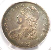 1833 CAPPED BUST HALF DOLLAR 50C - PCGS AU DETAILS -  CERTIFIED COIN