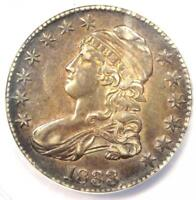 1833 CAPPED BUST HALF DOLLAR 50C O-104 - ANACS EXTRA FINE 45 EF45 PQ -  COIN