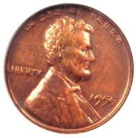 1955 DOUBLED DIE OBVERSE LINCOLN CENT PENNY 1C DDO COIN - ANACS AU DETAIL -