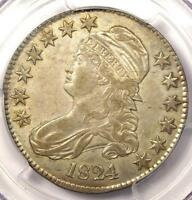 1824 CAPPED BUST HALF DOLLAR 50C O-113 - PCGS EXTRA FINE 40 EF40 -  CERTIFIED COIN
