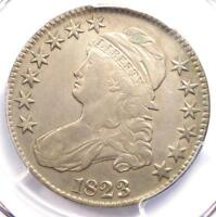 1823 CAPPED BUST HALF DOLLAR 50C O-111A - PCGS EXTRA FINE  DETAILS EF -  DATE
