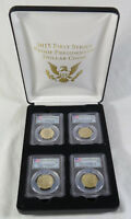 2015-S PRESIDENTIAL DOLLAR PROOF 4-COIN SET PCGS PR69 DCAM FIRST STRIKE