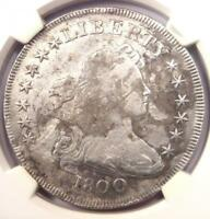 1800 DRAPED BUST SILVER DOLLAR $1 BB-195 B-15 - NGC FINE DETAILS -  COIN
