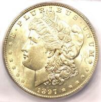 1897-O MORGAN SILVER DOLLAR $1 COIN - ICG MINT STATE 61  IN UNC BU - $1,590 VALUE