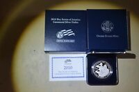 2010 BOY SCOUTS PROOF SILVER DOLLAR IN US MINT BOX COA BLAST WHITE PQ 624A