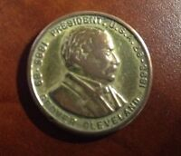 GROOVER CLEVELAND COMMEMORATIVE COIN 2 TERM COIN