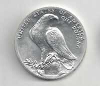 1984 S OLYMPIC BU .900 FINE SILVER DOLLAR COMMEMORATIVE NO BOX OR PAPERS