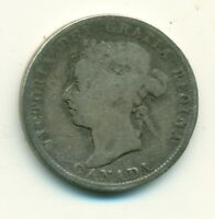 CANADA 25 CENTS 1888 VG