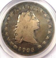 1795 FLOWING HAIR SILVER DOLLAR $1 COIN - CERTIFIED PCGS VG DETAIL -  COIN