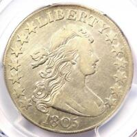 1805 DRAPED BUST HALF DOLLAR 50C O-112 - PCGS VF DETAILS -  CERTIFIED COIN