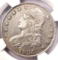 1834 CAPPED BUST HALF DOLLAR 50C - CERTIFIED NGC AU DETAILS -  COIN