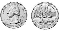 2018 P VOYAGEURS AMERICA THE BEAUTIFUL WASHINGTON QUARTER   UNCIRCULATED PHILLY