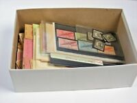 US EXCELLENT ACCUMULATION OF STAMPS & 52 COMPLETE OLD BOOKLETS $68 FACE OF $1
