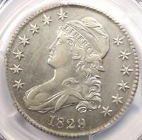 1829 CAPPED BUST HALF DOLLAR 50C O-116 - PCGS AU DETAILS -  CERTIFIED COIN