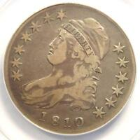 1810 CAPPED BUST HALF DOLLAR 50C O-105 - ANACS VF25 -  CERTIFIED COIN