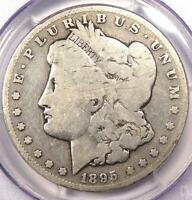 1895-S MORGAN SILVER DOLLAR $1 - PCGS G4 GOOD -  DATE CERTIFIED COIN
