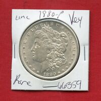 1880 BU UNC MORGAN SILVER DOLLAR 66359 MS COIN US MINT  KEY DATE ESTATE