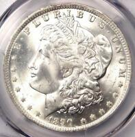 1890-O MORGAN SILVER DOLLAR $1 VAM-10 COMET VARIETY - PCGS MINT STATE 65 - TOP POP VAM