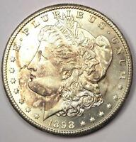 1898-S MORGAN SILVER DOLLAR $1 - EXCELLENT CONDITION -  LUSTER & FEATHERS
