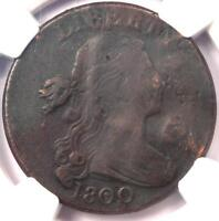 1800 DRAPED BUST LARGE CENT 1C S-197 - NGC VF DETAILS -  EARLY DATE PENNY