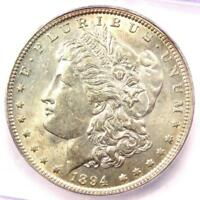 1894-O MORGAN SILVER DOLLAR $1 COIN - ICG MINT STATE 62  IN UNC BU - $2,340 VALUE