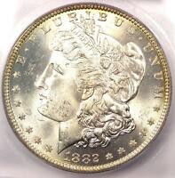1882-O MORGAN SILVER DOLLAR $1 - ICG MINT STATE 65 -  IN MINT STATE 65 - $1,290 VALUE