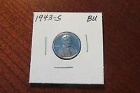 1943-S LINCOLN STEEL CENT BU