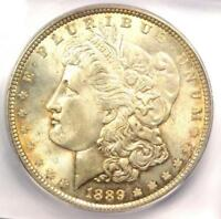 1889 MORGAN SILVER DOLLAR $1 - ICG MINT STATE 66 -  DATE IN MINT STATE 66 - $980 VALUE