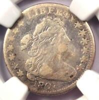 1807 DRAPED BUST DIME 10C JR-1 - CERTIFIED NGC VF DETAILS -  COIN