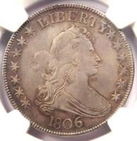 1806 DRAPED BUST HALF DOLLAR 50C O-118A - NGC EXTRA FINE  DETAIL -  CERTIFIED COIN