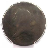 1793 LIBERTY CAP FLOWING HAIR HALF CENT 1/2C - PCGS FAIR DETAILS -  COIN
