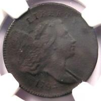 1794 LIBERTY CAP FLOWING HAIR HALF CENT 1/2C - NGC VF DETAIL -  COIN