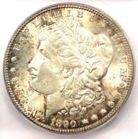 1890-CC MORGAN SILVER DOLLAR $1 - ICG MINT STATE 64 -  IN MINT STATE 64 GRADE - $1,440 VALUE
