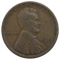 1919 D LINCOLN WHEAT CENT GOOD PENNY GD