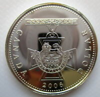 2006 CANADA VICTORIA CROSS BRILLIANT UNCIRCULATED 99.99  SIL
