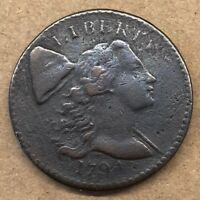 1794 LIBERTY CAP LARGE CENT  DATE HIGH QUALITY VG