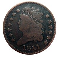 HALF CENT/PENNY 1811 BEAUTIFUL COLLECTOR COIN WOW AMAZING SH