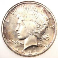 1921 PEACE SILVER DOLLAR $1 - EXCELLENT CONDITION -  LUSTER -  COIN
