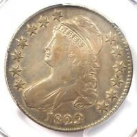 1823 PATCHED 3 VARIETY CAPPED BUST HALF DOLLAR 50C - PCGS VF30 - $535 VALUE