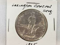 1925 US LEXINGTON CONCORD SESQ. HALF DOLLAR SILVER .9000, WEIGHT 12.5 GRAMS