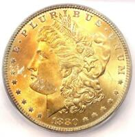1880 MORGAN SILVER DOLLAR $1 1880-P - ICG MINT STATE 66 -  IN MINT STATE 66 - $1,880 VALUE