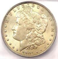 1901 MORGAN SILVER DOLLAR $1 COIN 1901-P - ICG MINT STATE 61 BU UNC - $4,190 VALUE